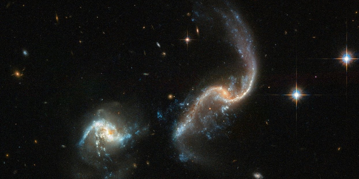 This Cosmic Merger Is Giving Life To A New Generation Of Stars