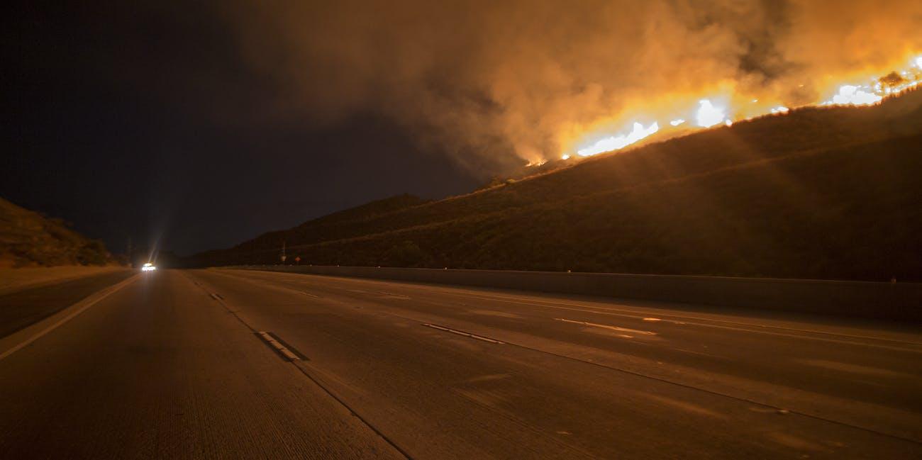 California Fires: How Is Waze Handling LA Wildfires? We