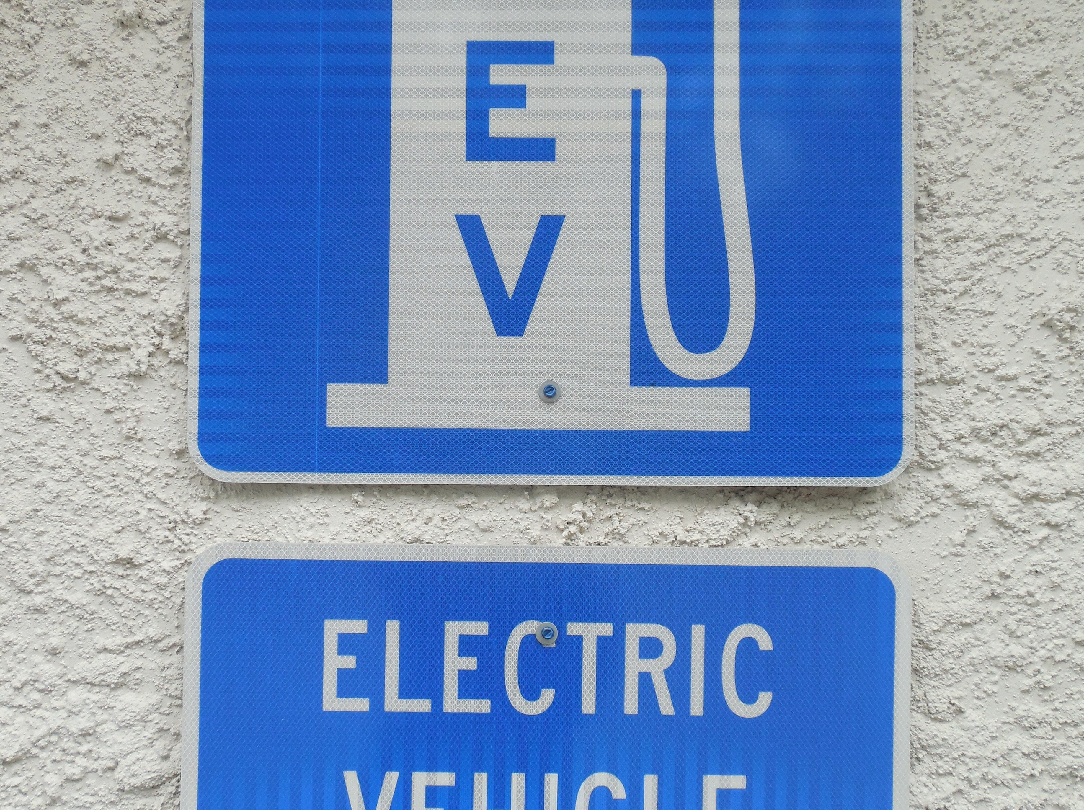 EV Sign
