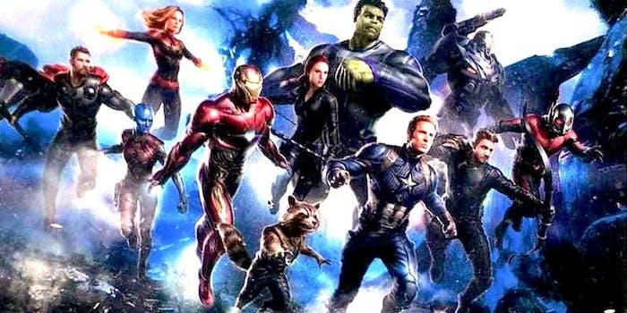 avengers 4 leak