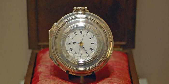 John Harrison's chronometer