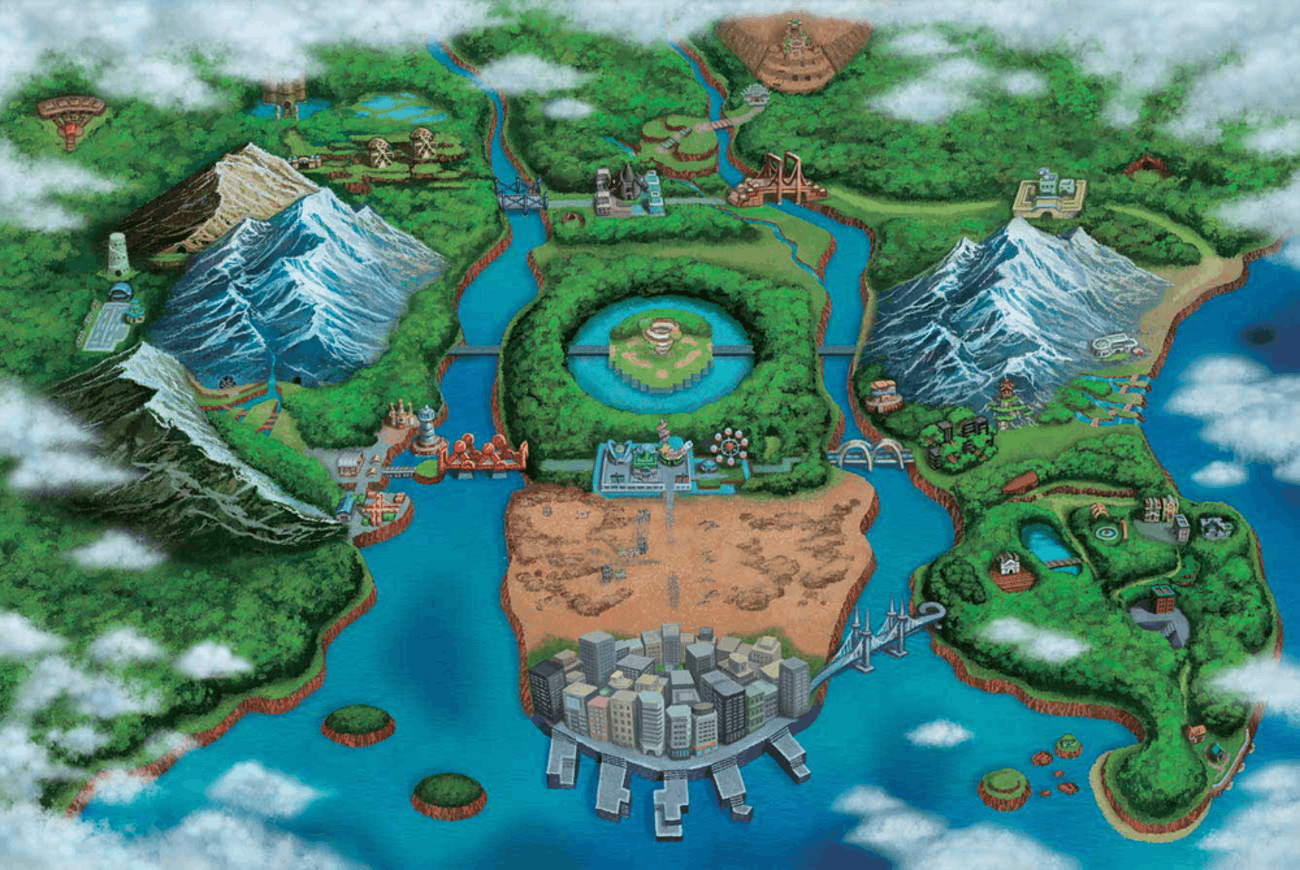 Pokémon's Unova Region