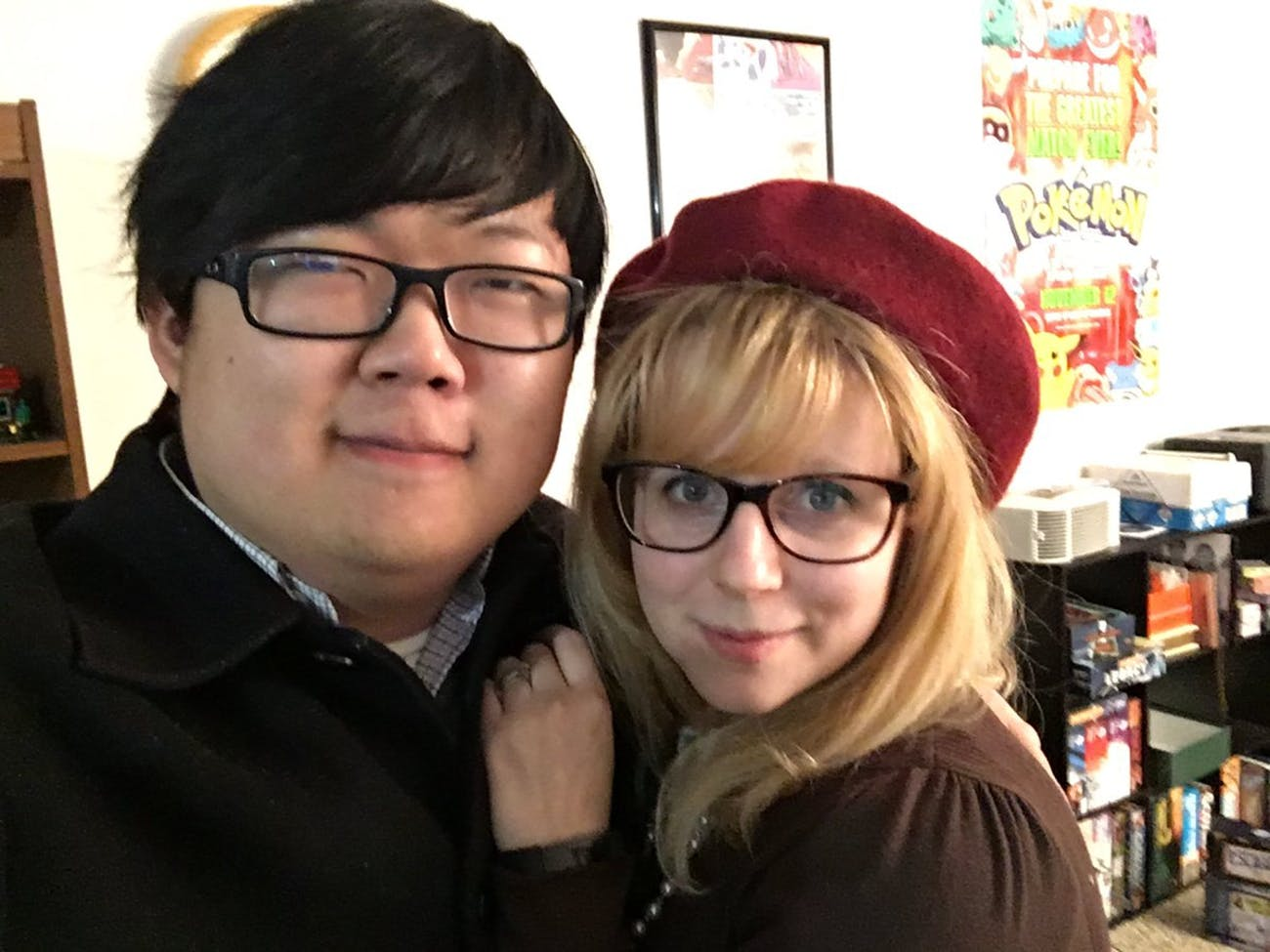 SungWon Cho and Anne Marie Salter