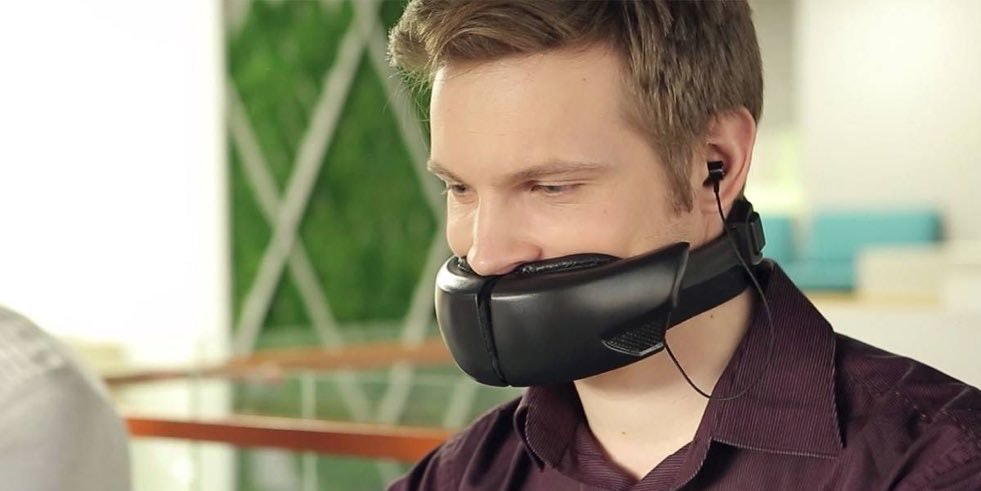 The internet is obsessed with Hushme, the privacy product that makes you look like Bane.