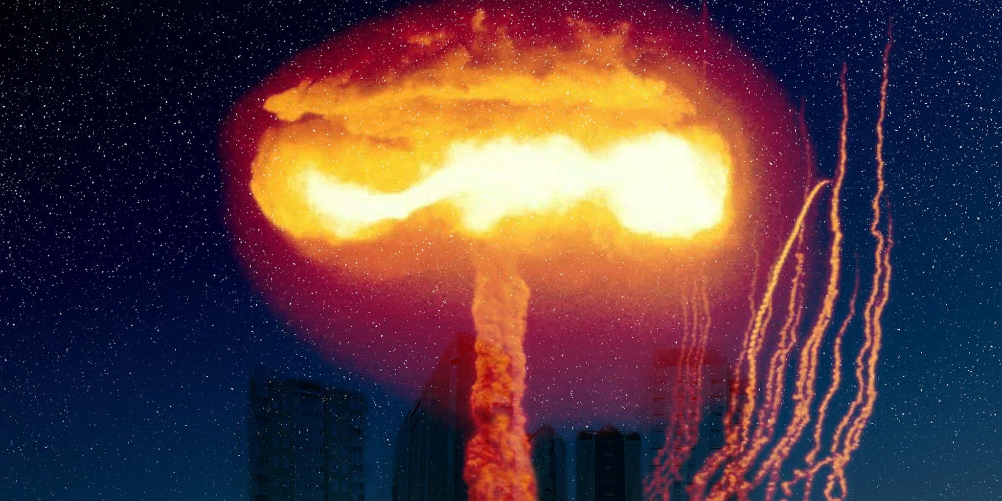 Nuclear bomb anthropocene