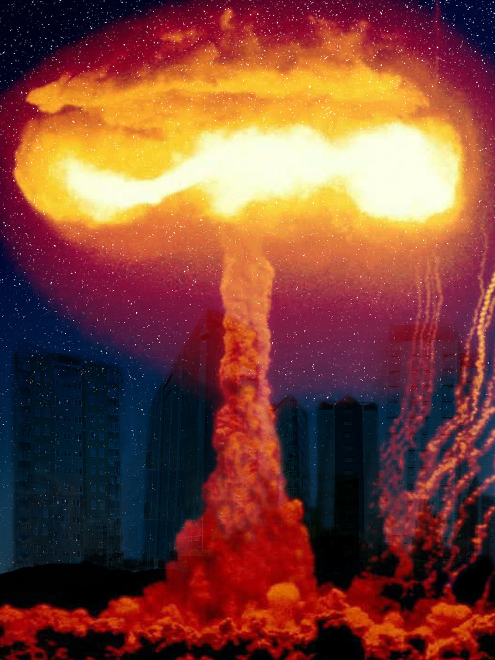 Nuclear bomb anthropocene