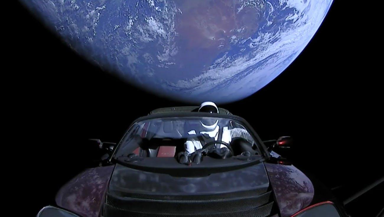 "Tesla ""Starman"""