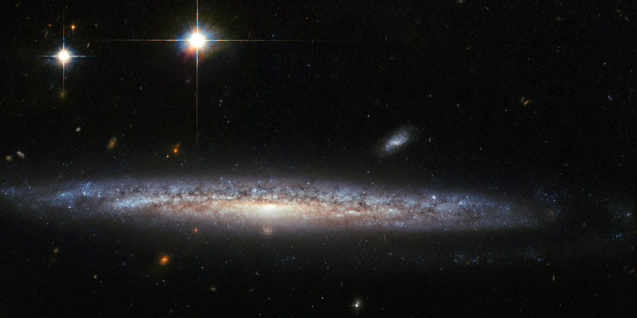 NASA ESA hubble capture a rare calcium rich supernova