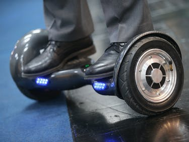 People Are Still Falling Off Hoverboards