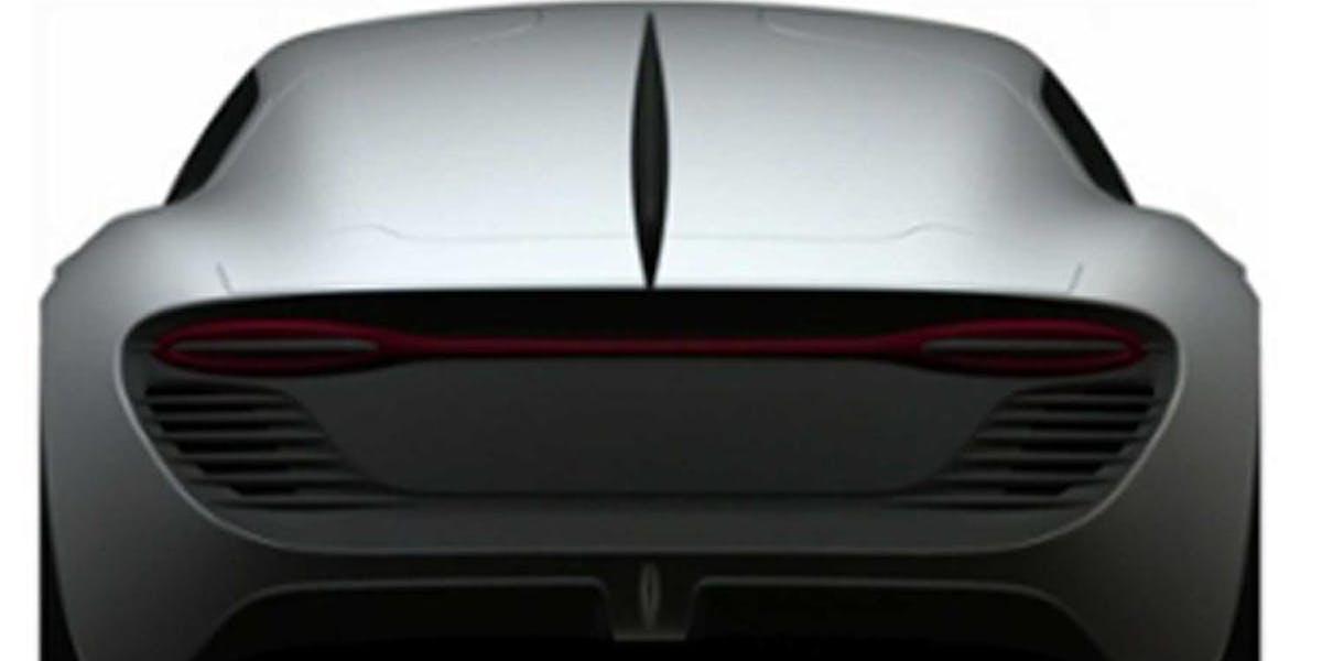 A gull-fin tail gives the car maximum agility
