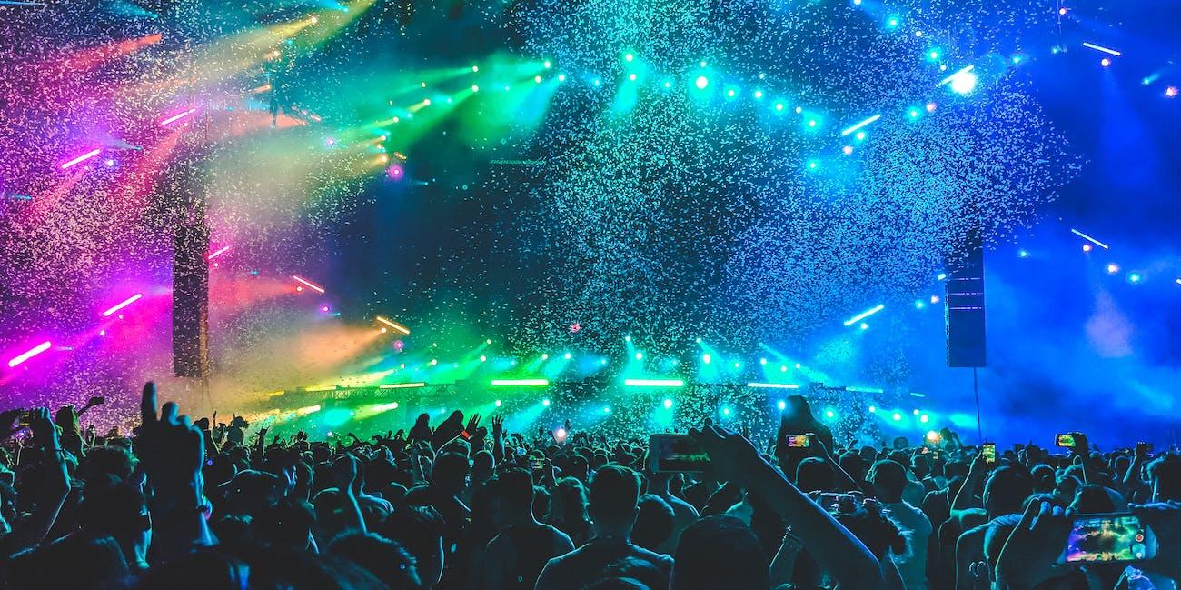 EDM concert