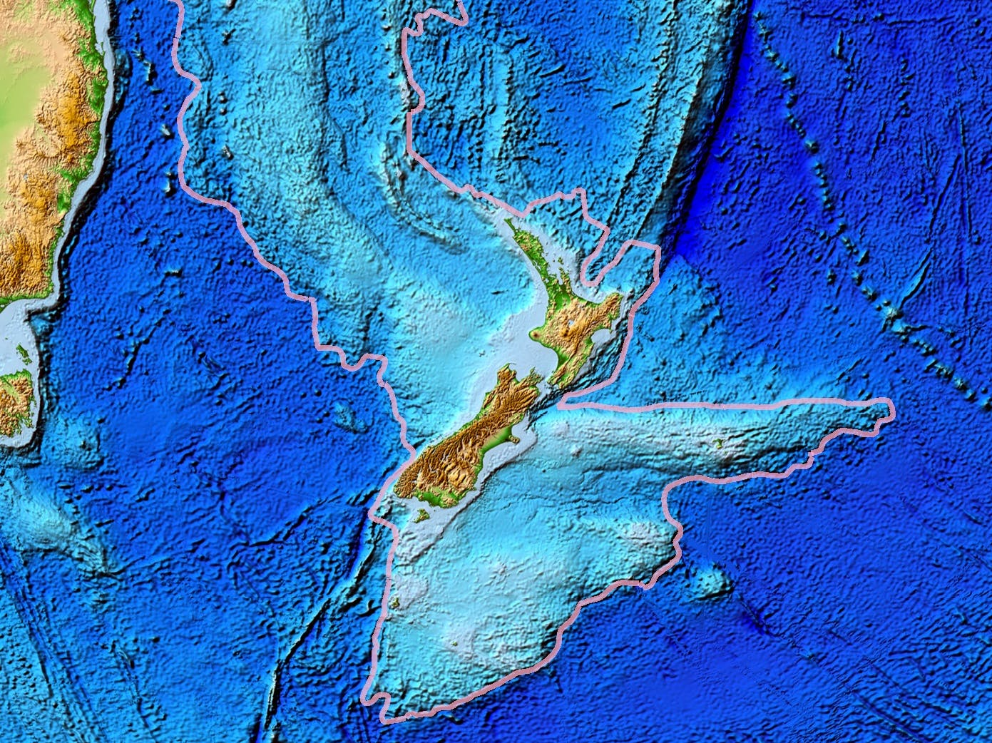 The Underwater Continent of Zealandia Could Predict Earth's Future