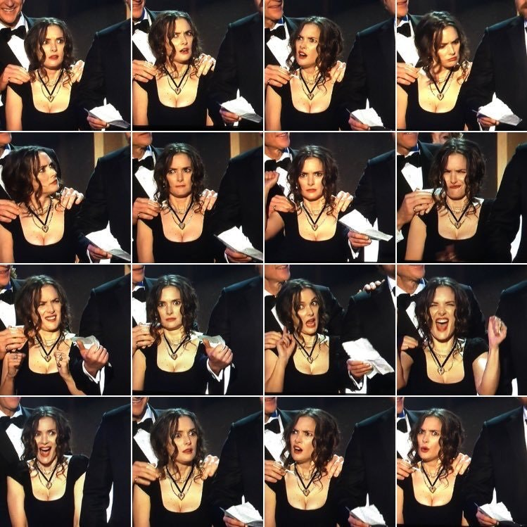 los angeles ca january 29 l r actors matthew modine winona ryder and david harbour of stran?rect=0%2C185%2C749%2C375&auto=format%2Ccompress&w=650 winona ryder meme was the breakout star at the sag awards inverse
