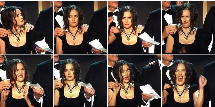 Winona Ryder Meme Was The Breakout Star At The Sag Awards Inverse