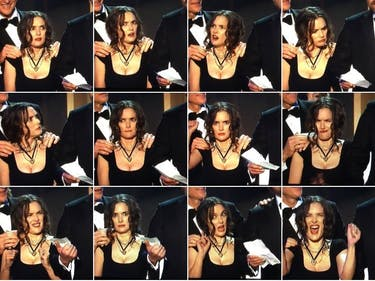 Winona Ryder was the Most Memeable Thing at the SAG Awards