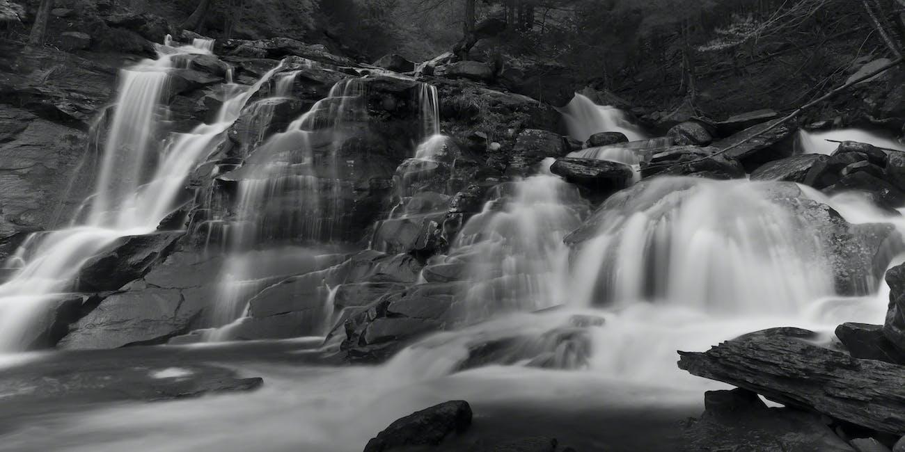 lower cascade of katterskill falls