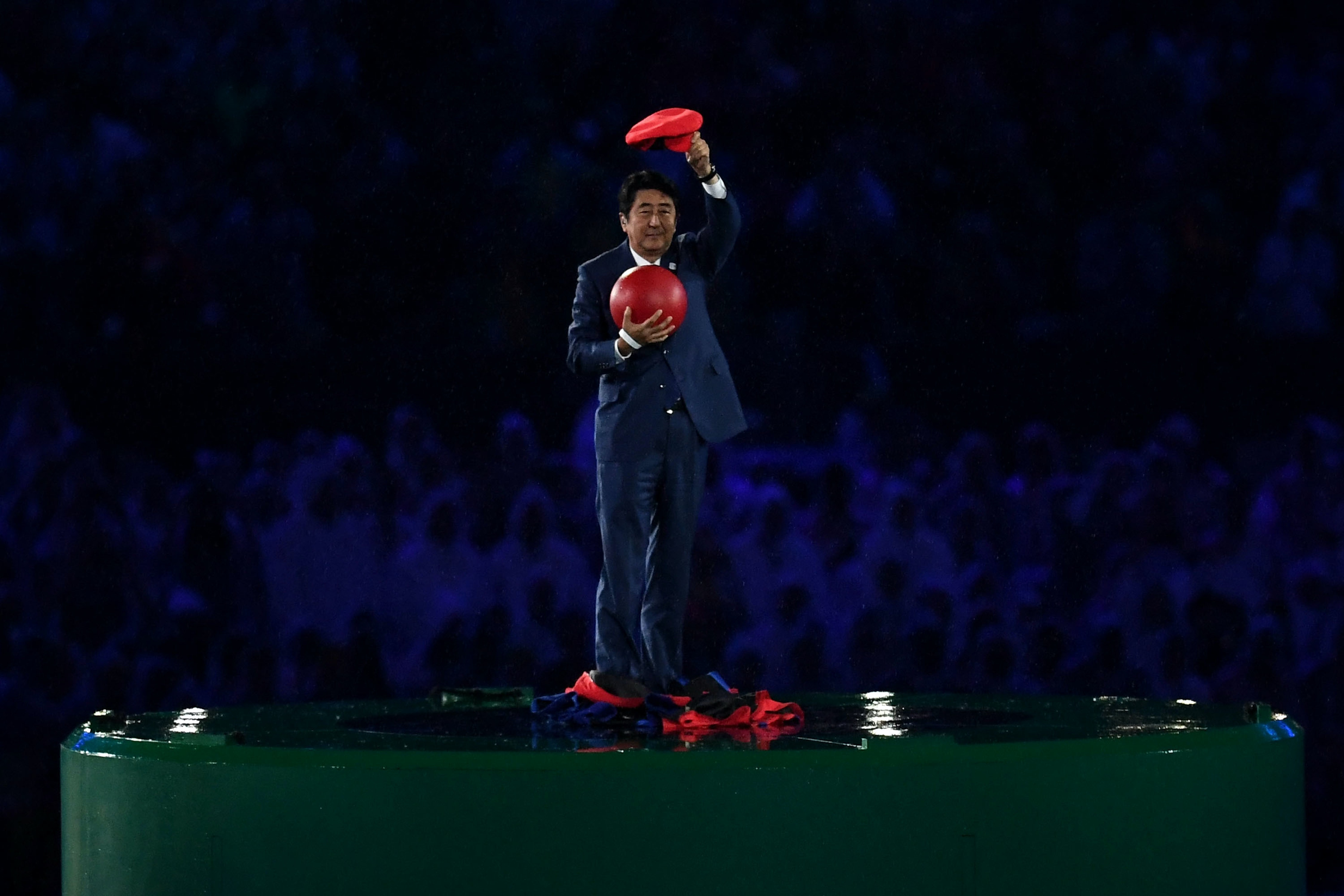 We see you, Prime Minister Shinzo Abe. We are so ready for the Japan 2020 Olympics.