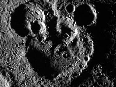 Mickey Mouse Celebrates His 88th Birthday on Mercury