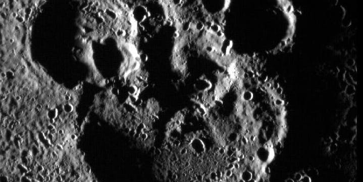 NASA celebrates Mickey Mouse's 88th birthday with picture of craters on Mercury.