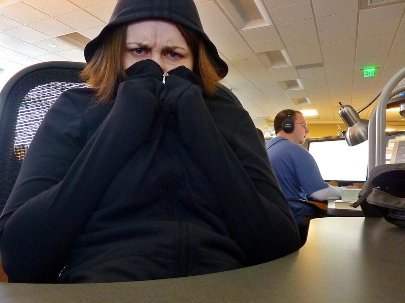 Freezing Offices A Relic Of 39 Mad Men 39 Era Attitudes Toward