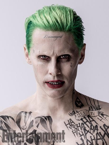 Jared leto 39 s joker encapsulates every 39 suicide squad for Joker damaged tattoo