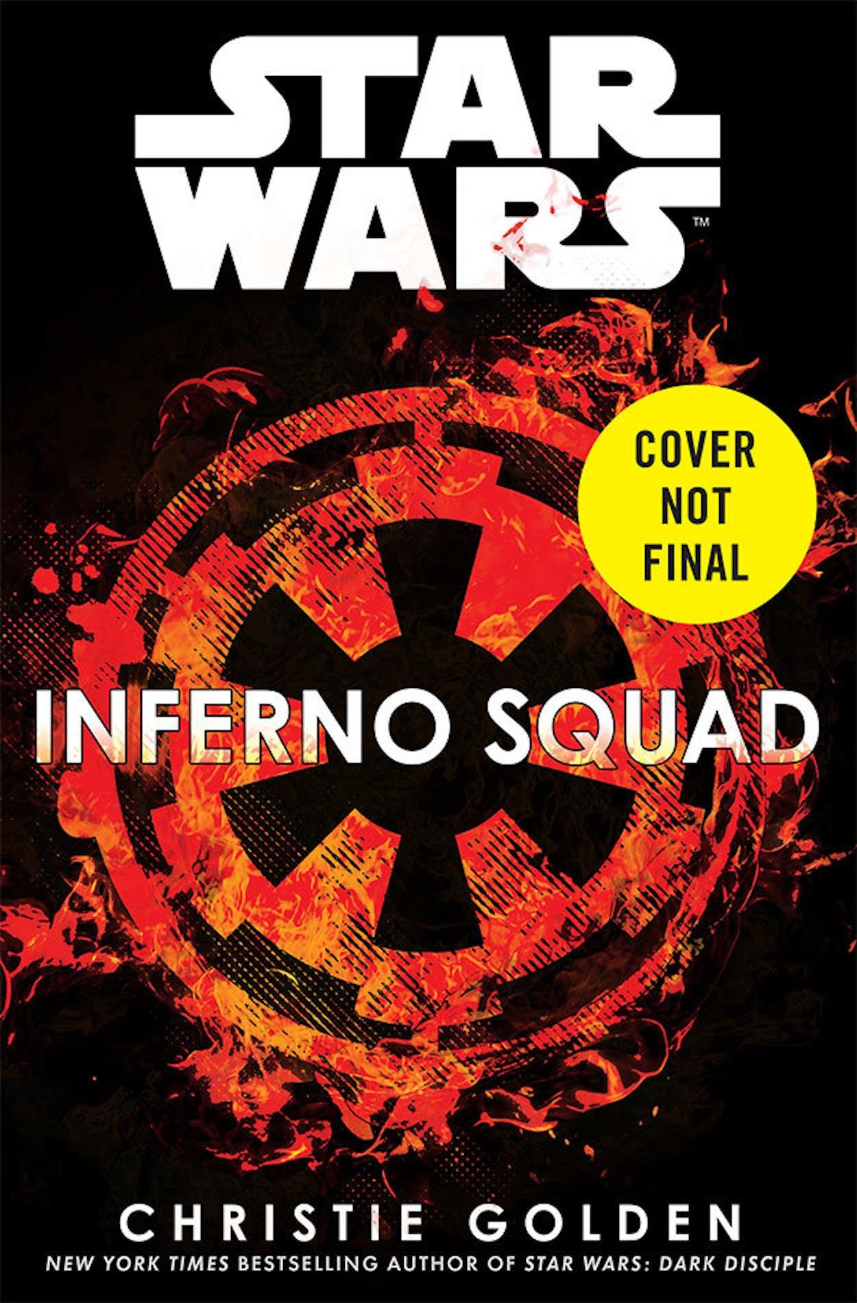 Rogue One sequel novel book star wars Inferno Squad death star jedha