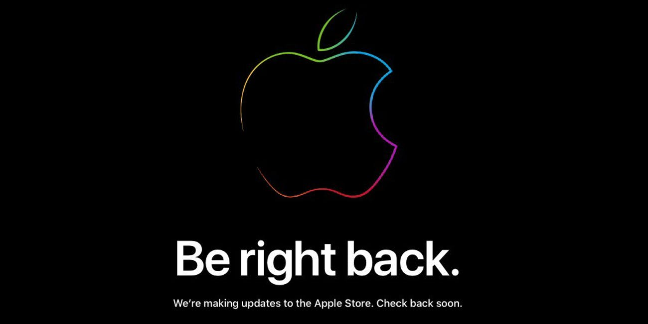 apple website head iphone announcement