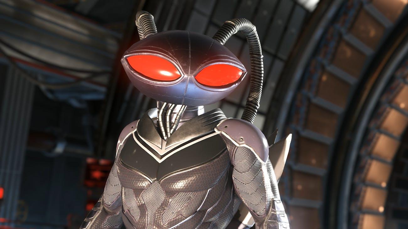 Black Manta as he appears in 'Injustice 2'.