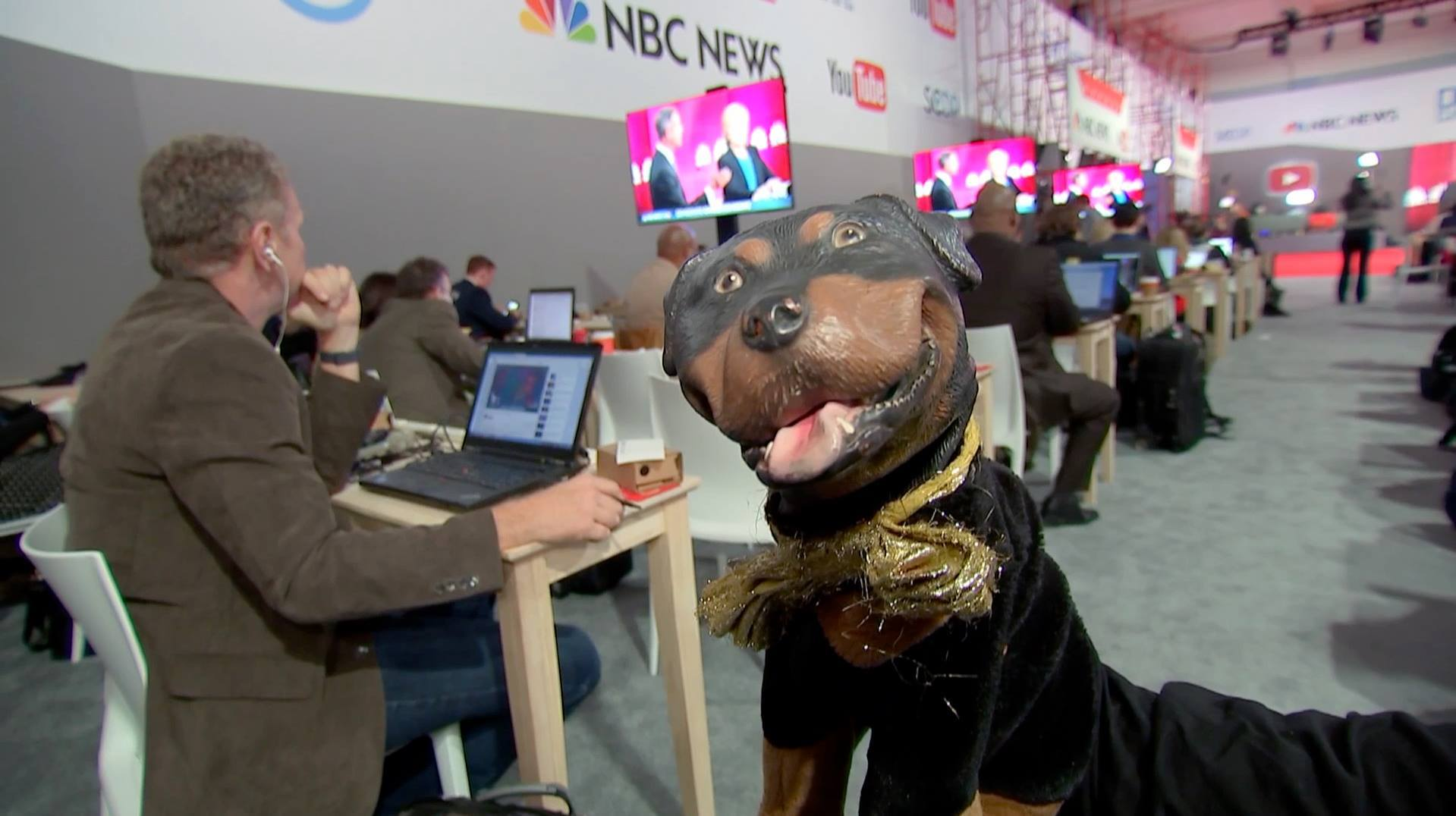 all the most outrageous gags in triumph, the insult comic dog's