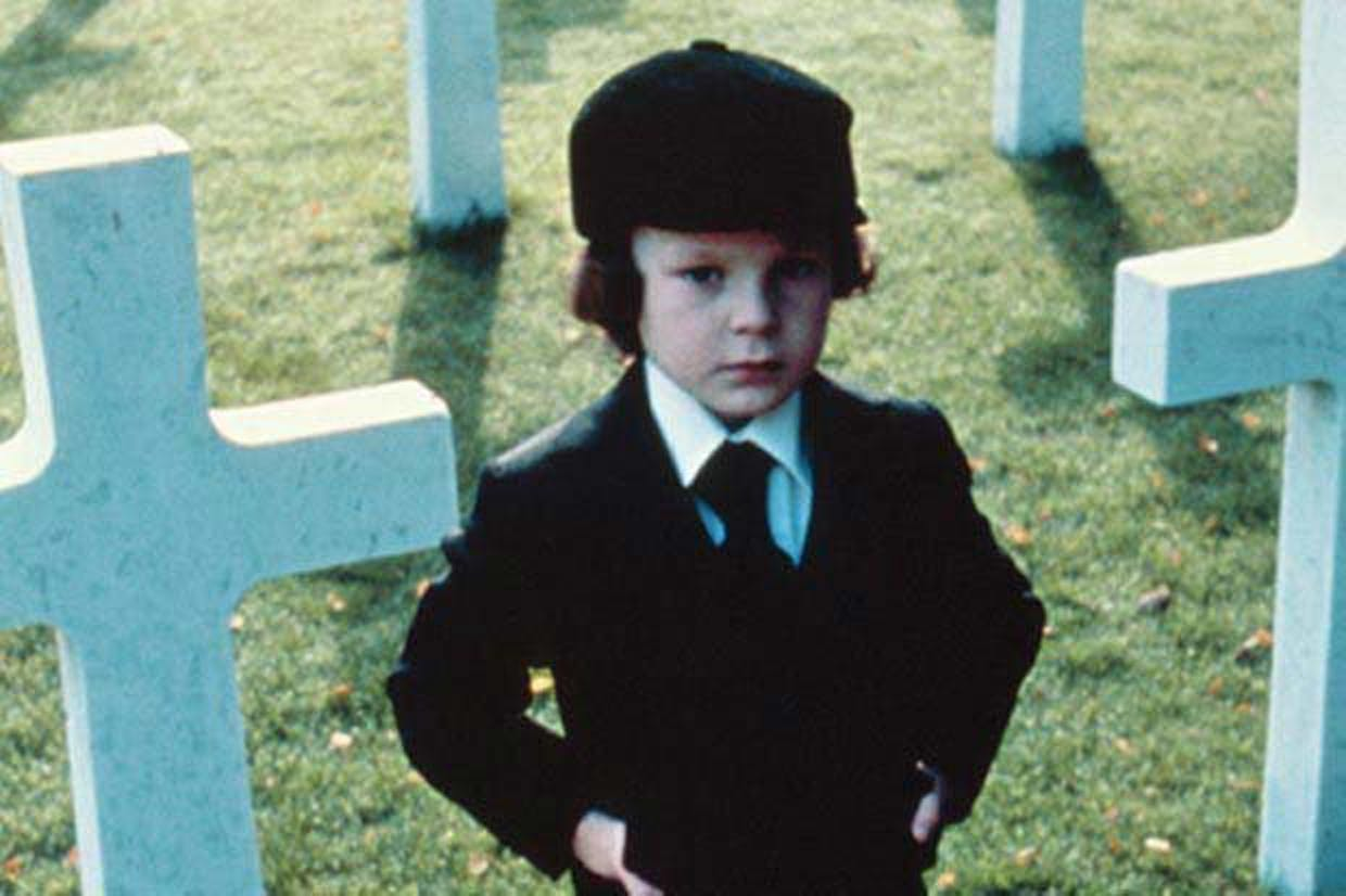 Damien from 'The Omen' (1976), as portrayed by Harvey Spencer Stephens.