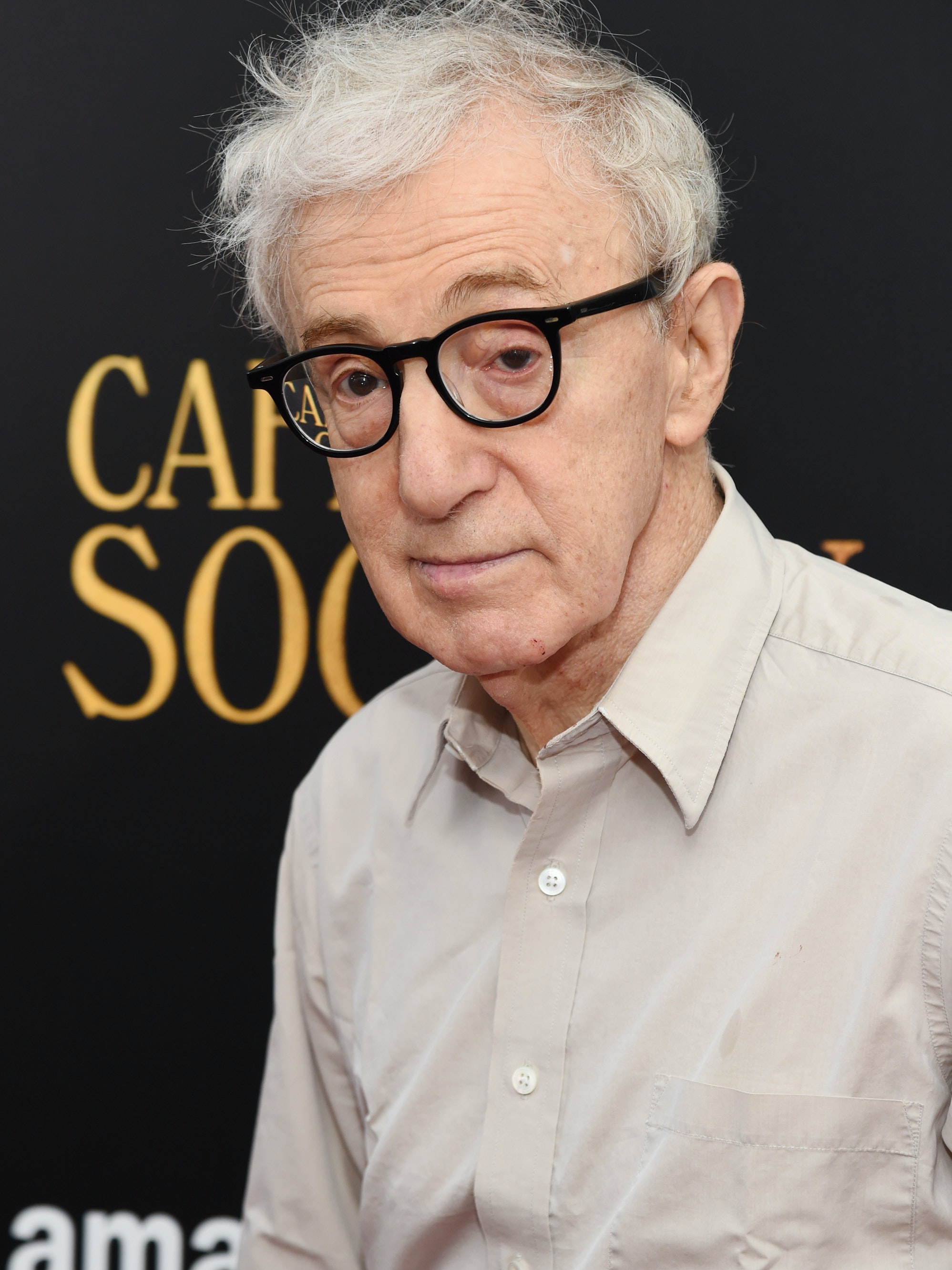 NEW YORK, NY - JULY 13:  Woody Allen attends the premiere of 'Cafe Society' hosted by Amazon & Lionsgate with The Cinema Society at Paris Theatre on July 13, 2016 in New York City.  (Photo by Jamie McCarthy/Getty Images)