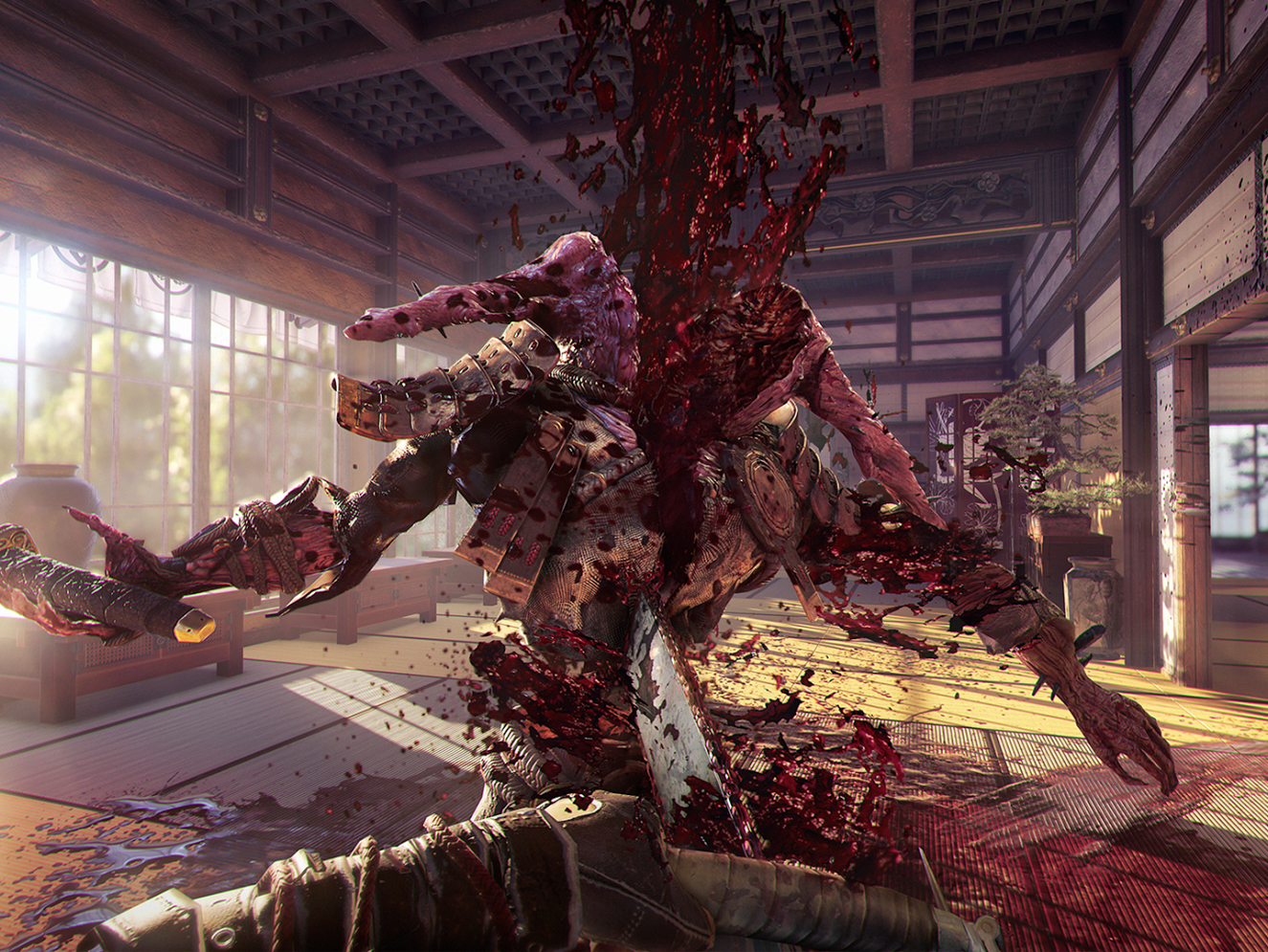 'Shadow Warrior 2' doesn't shy away from the terrible realities of ridiculous situations.