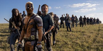 Deadpool Walking Dead Walking Deadpool