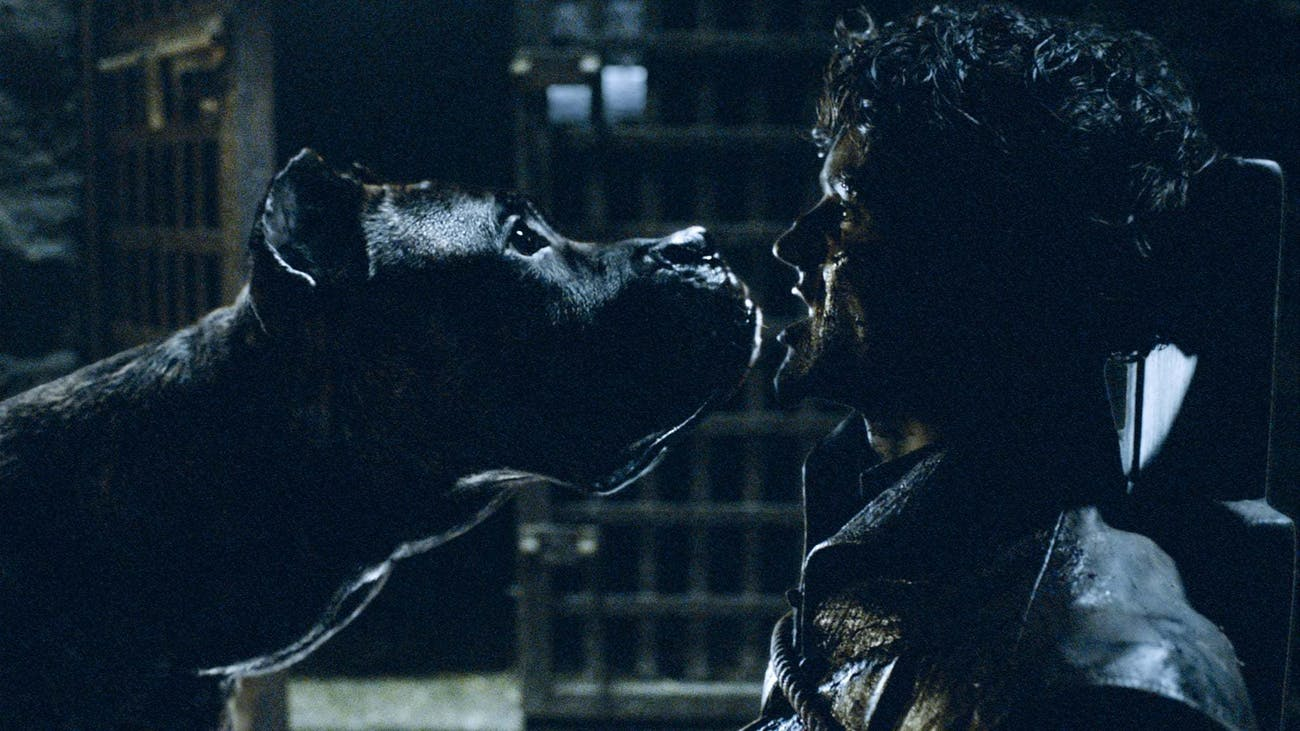 Ramsay's death was one fitting for such a cruel character.