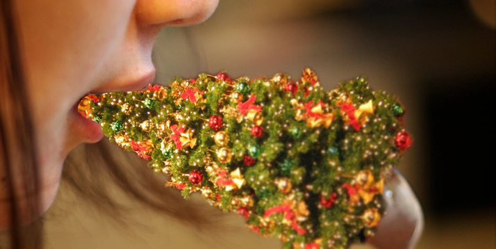 How to eat your Christmas tree.