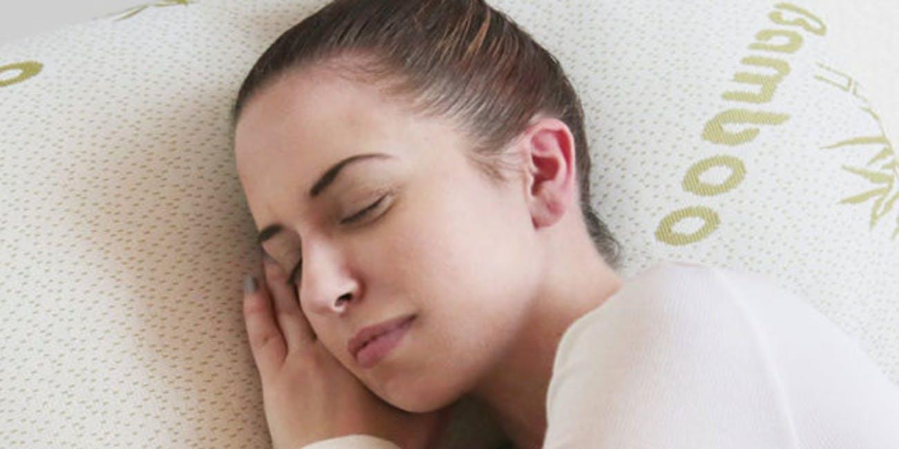 bamboo memory foam pillow, sleep, health, foam pillow, home, bed, rest
