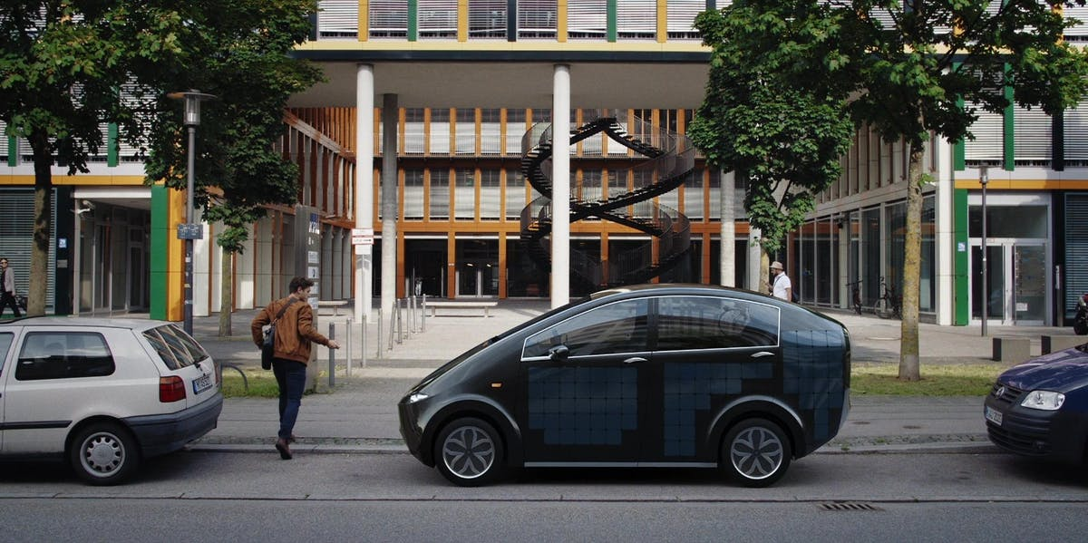 sono motors sion solar car