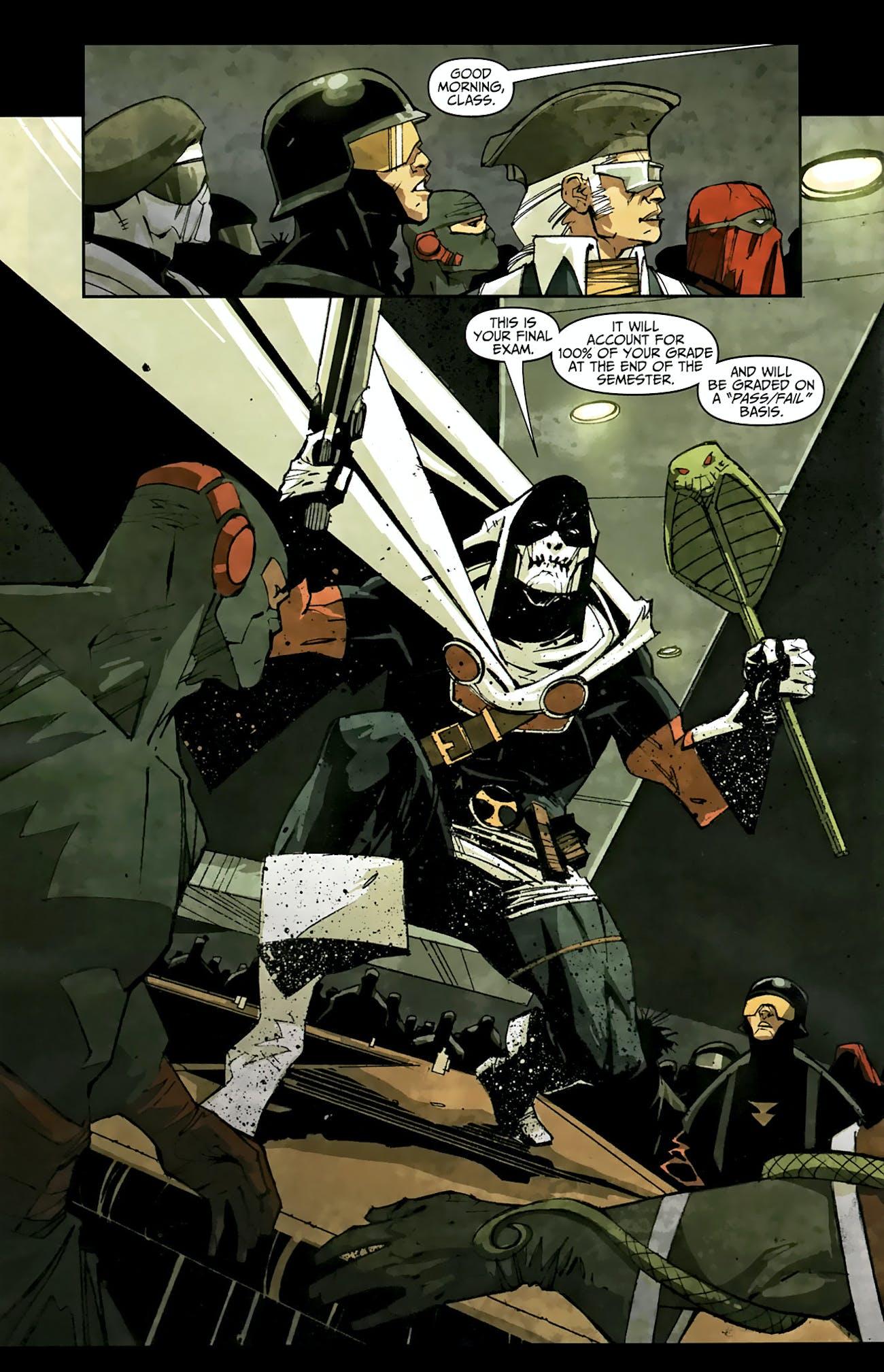 Taskmaster Marvel Comics Black Widow