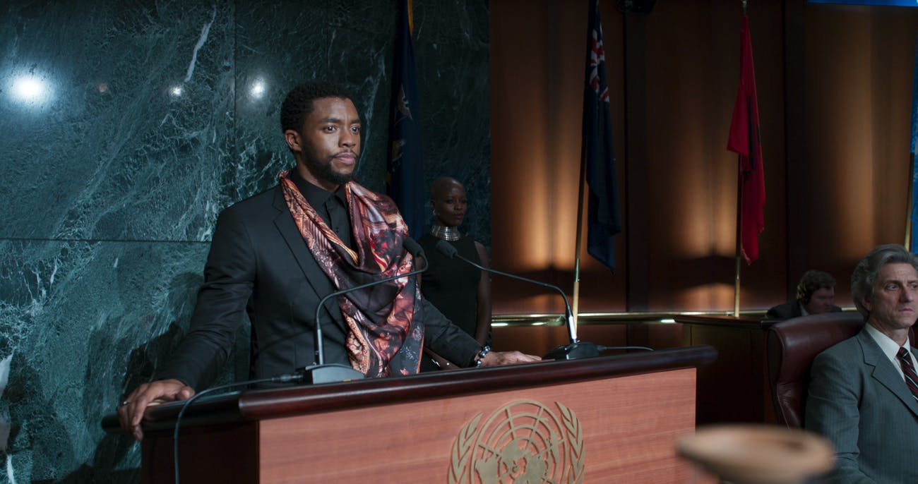 Black Panther T'Challa Marvel