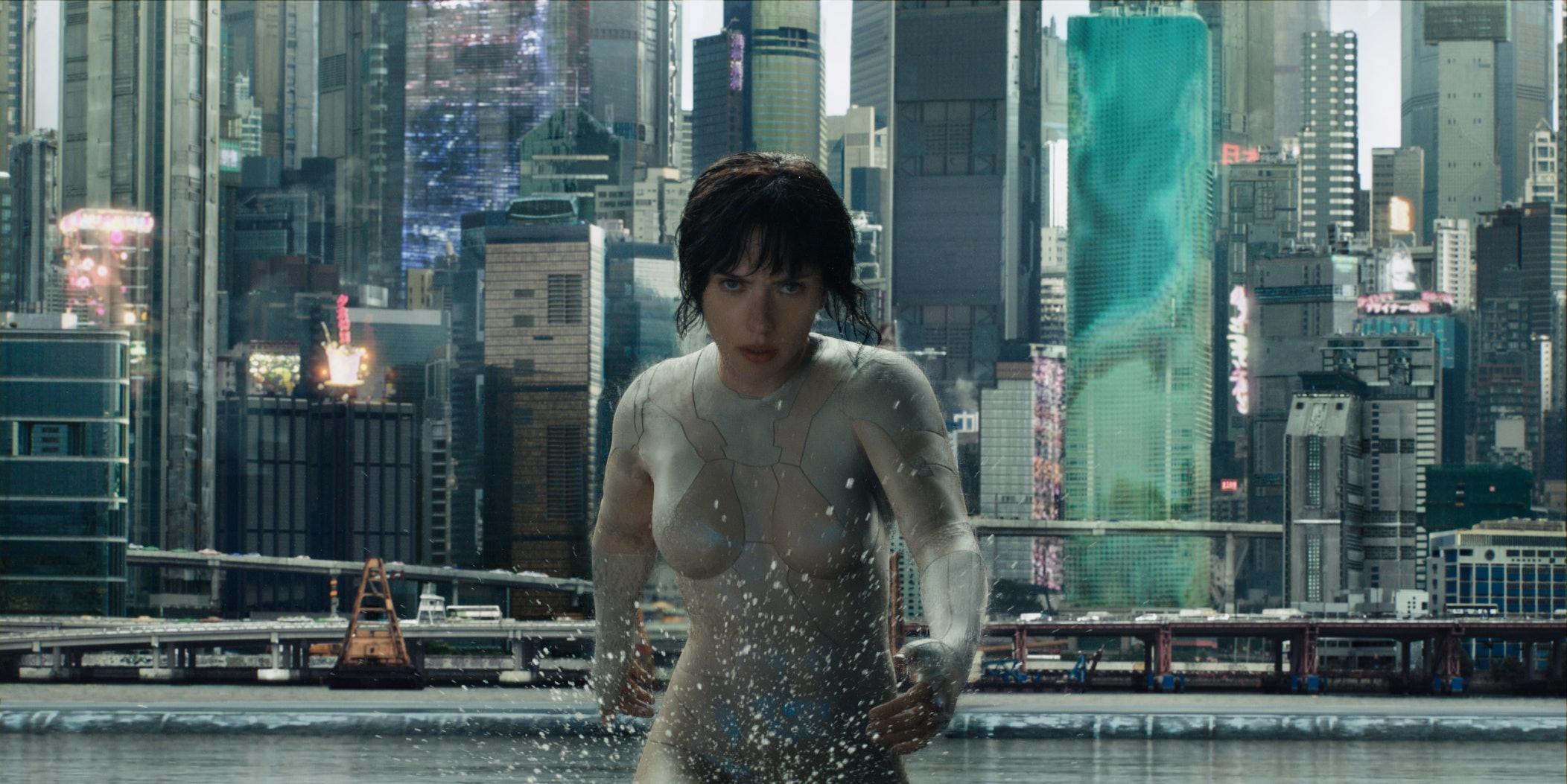 Scarlett Johansson in 'Ghost in the Shell'