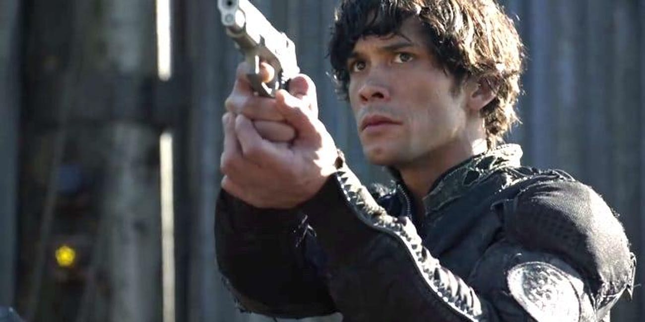 Bob Morley as Bellamy Blake in 'The 100'