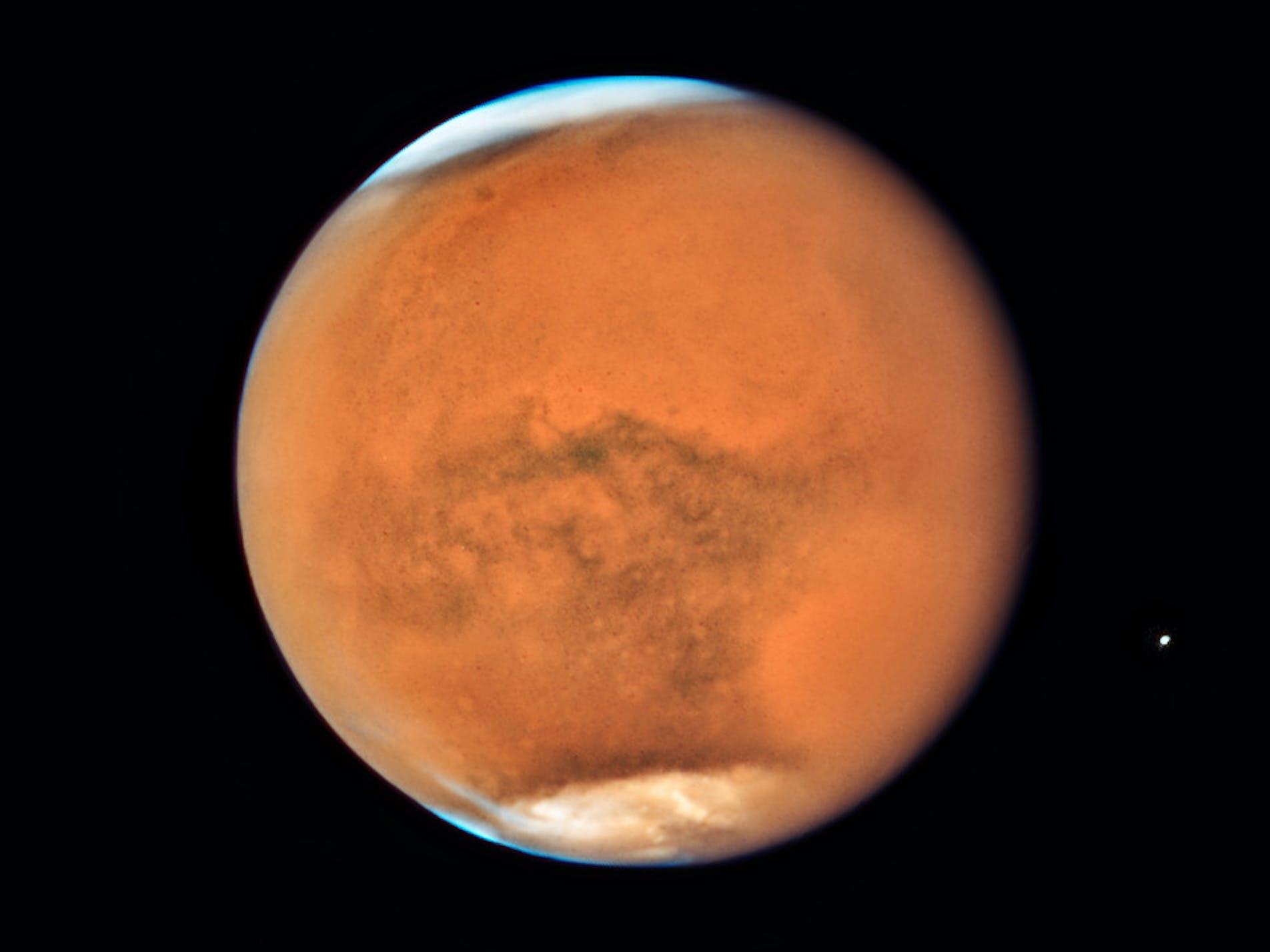 Mars Opposition Hubble
