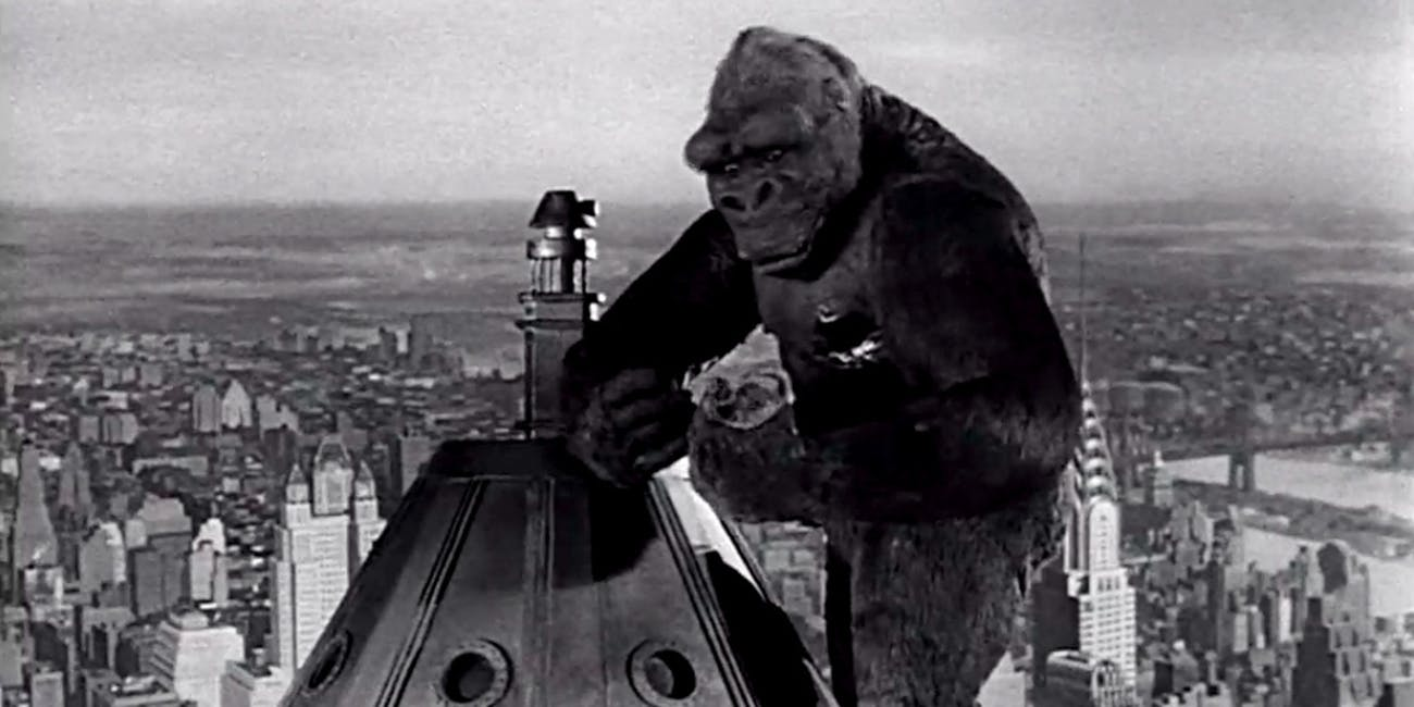 vfx history of king kong from stop motion to motion capture inverse