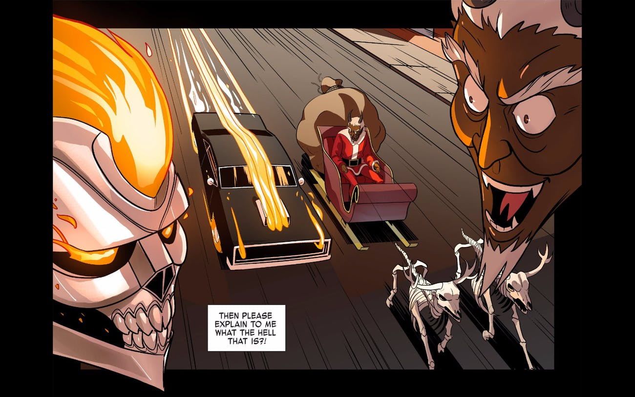 Ghost Rider Krampus