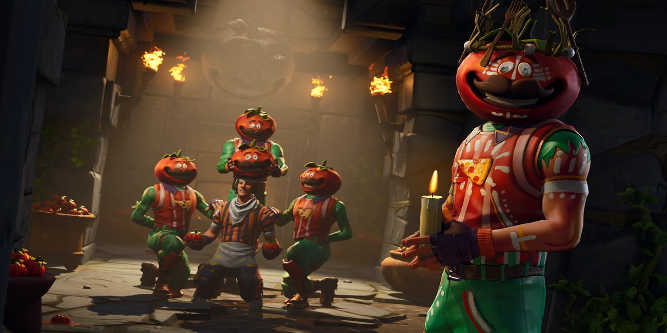 fortnite tomato temple head