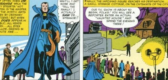 The seldom-seen 'blue cloak.'