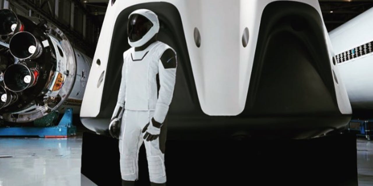 Elon Musk Shares Full Body Shot Of SpaceXs Sharp Spacesuits