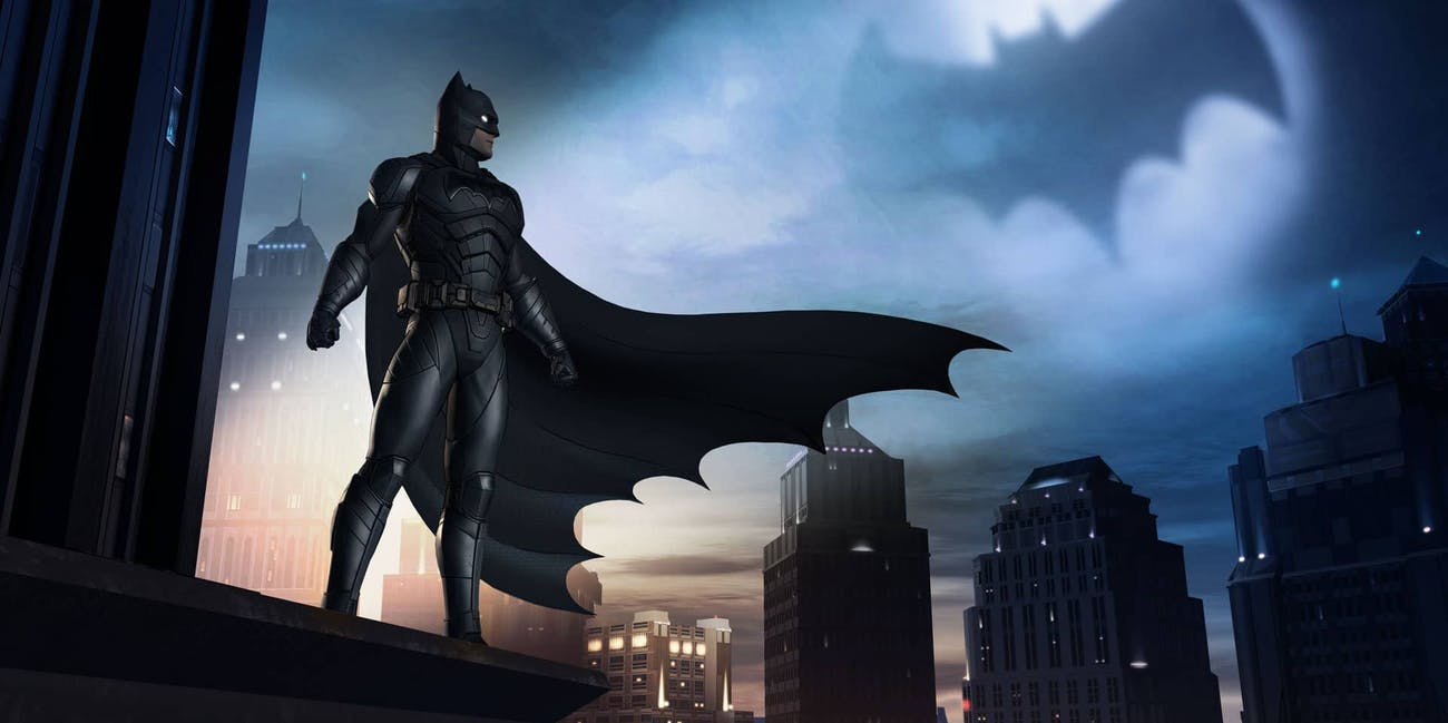 The Caped Crusader in 'Batman: The Enemy Within.'