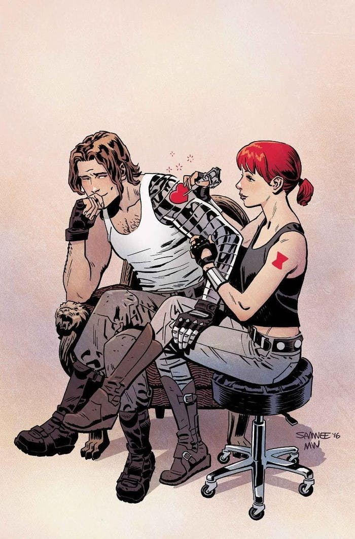 Cover for Black Widow #10 from Marvel Comics
