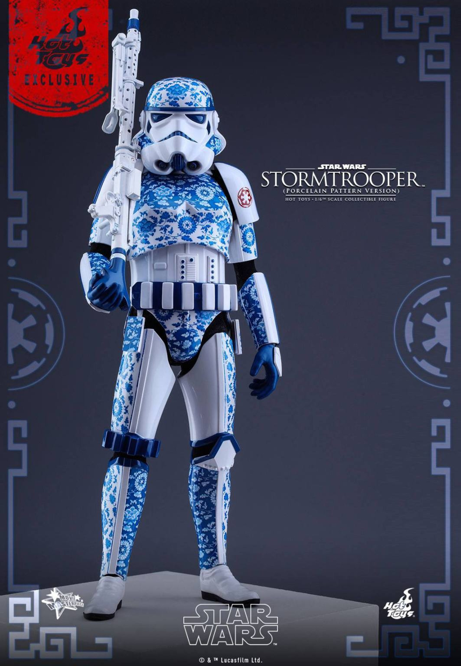 Only imperial stormtroopers are so precisely painted.